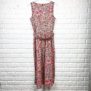 LAURA ASHLEY Vintage Floral Fit and Flare Dress